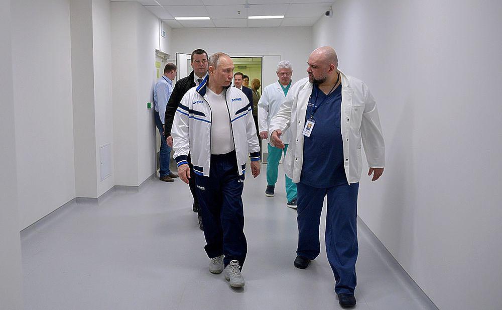 Лица врачей, которым Путин дал Героя Труда