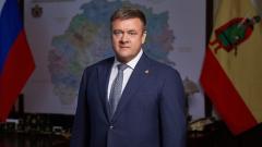 Любимов записал видеопоздравление для рязанских медиков
