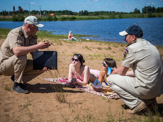 В Кирове официально открыли первый пляж