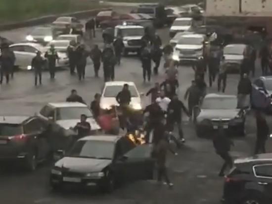 В Норильске из-за девушки устроили массовую драку