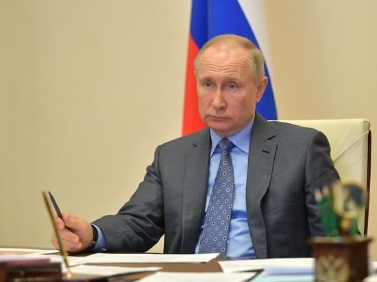 Путин рассказал, чем занимается в свободное время