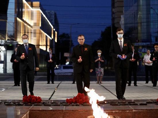 В Краснодаре Вениамин Кондратьев почтил память погибших в Великой Отечественной войне