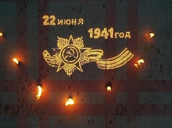 Серпуховичи зажгли «огненный» орден