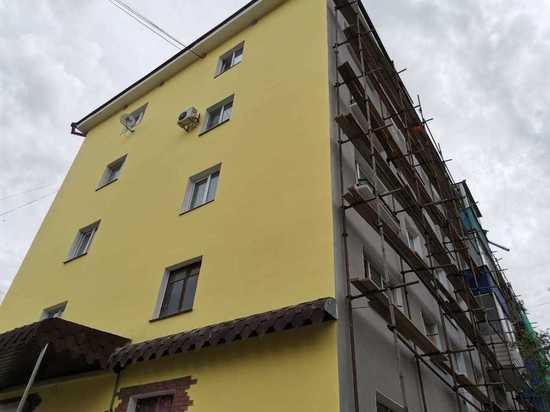 Фасады хрущевок станут разноцветными в Чите