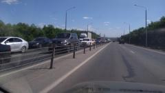 Авария на объездной в Оренбурге: цистерна стала причиной пробки