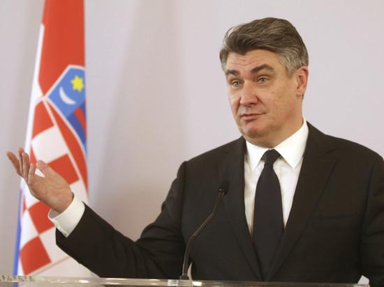«Сломался самолет»: президент Хорватии не прилетит на московский парад Победы