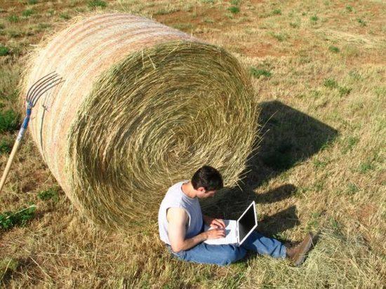 В Хакасские деревни пришел интернет