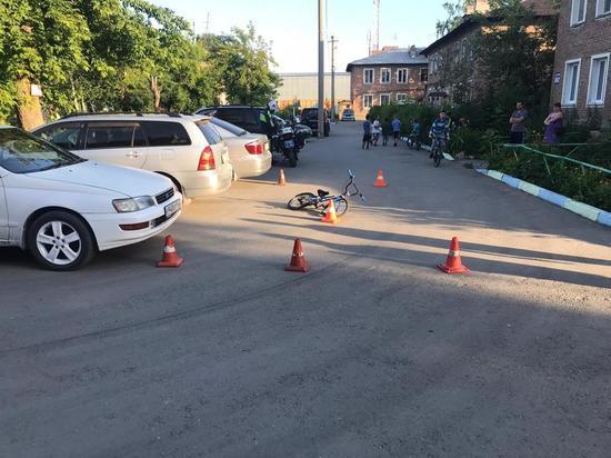 Водитель такси сбил юного велосипедиста в Новосибирске и сбежал