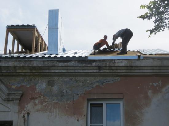 Барнаульские чиновники хотят спрятать под сайдингом ветхий дом