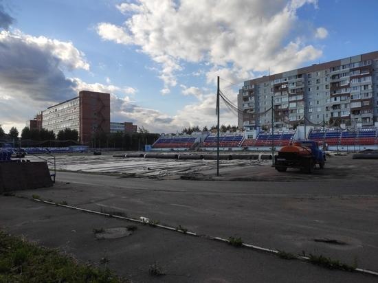 «Локомотив» тронулся: в Пскове стартовал ремонт второго стадиона
