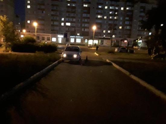 В Новотроицке сбили девушку на велосипеде
