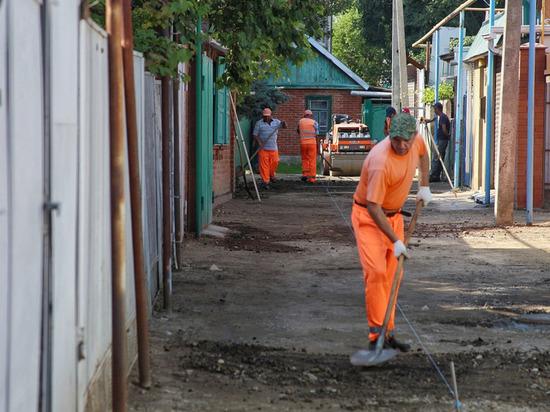 В Краснодаре по просьбе жителей отремонтировали улицу Казачью