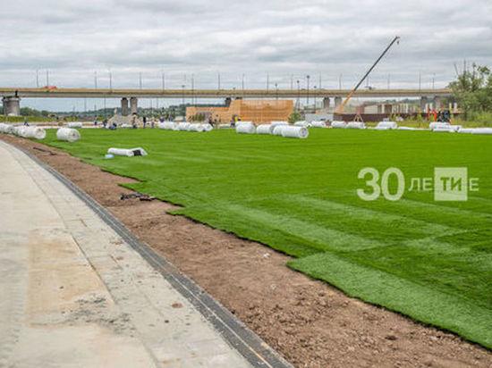 Под Миллениумом в Казани обустроят футбольное поле и волейбольную площадку
