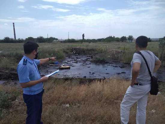 Прокуратура калмыцкой столицы занялась мазутной «рекой»