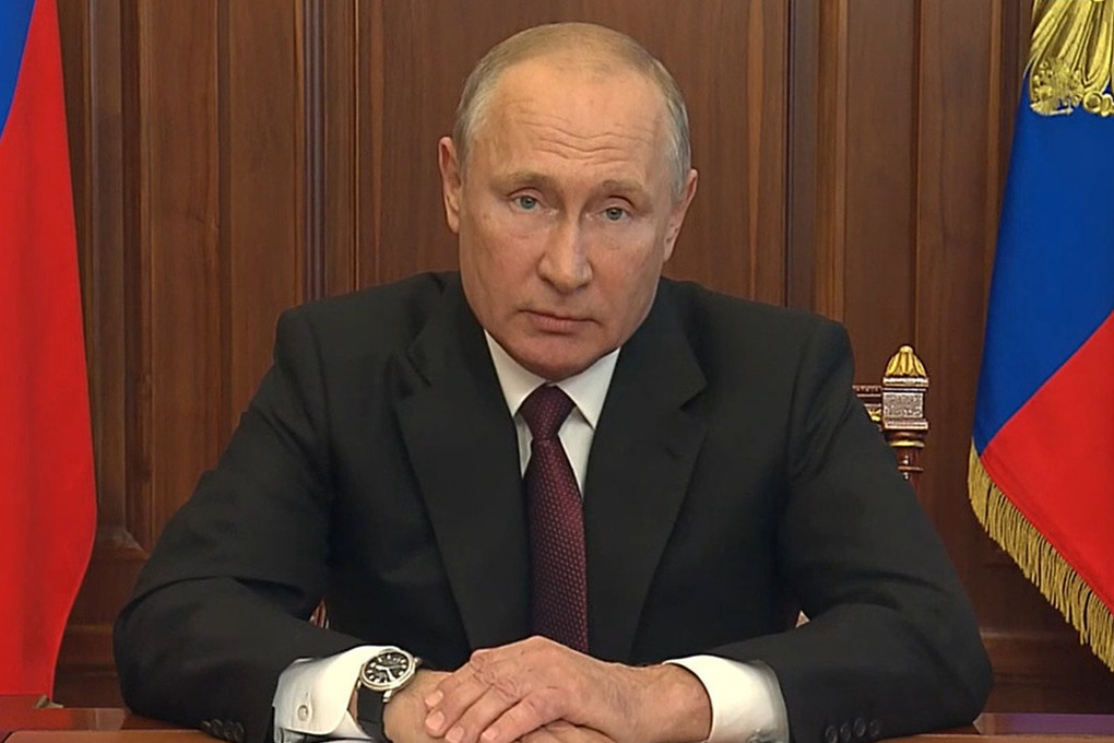 Путин: с 1 января изменить ставку НДФЛ с 13 до 15% с суммы 5 миллионов в год.