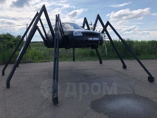 Краснодарец продает машину-паука за один миллион рублей