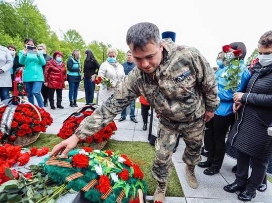 На Сахалине захоронили останки двух краноармейцев