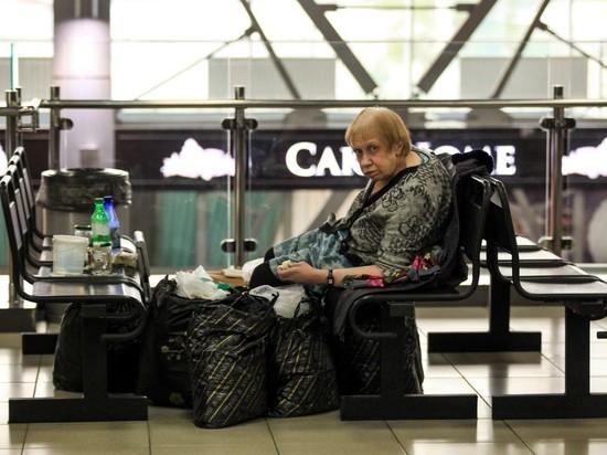 Бабушка из аэропорта снова отказалась от помощи