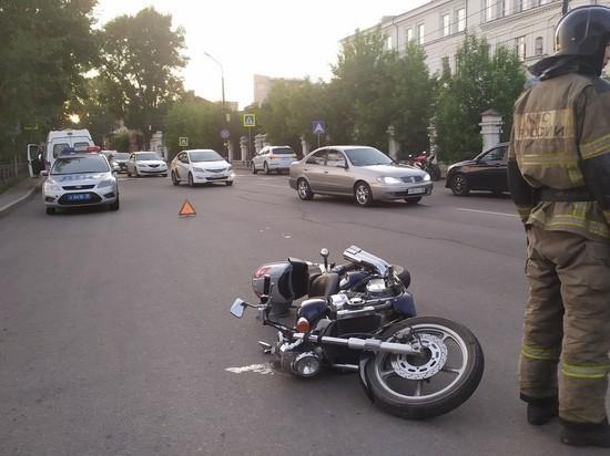 В Иркутской области мотоциклы попадают в страшные аварии