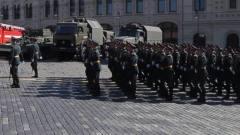 На Красной площади идут последние приготовления к параду Победы