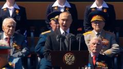 """Путин на параде Победы: """"Подвиг ветеранов является достоянием всего человечества"""""""