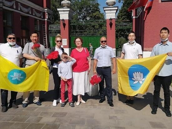 Московские калмыки почтили память наших героев