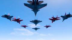 Рев моторов над Москвой: воздушная часть парада Победы впечатлила зрителей