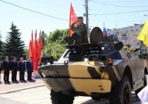 Силовые структуры маршем прошли в Калуге