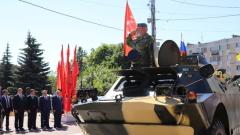 Шествие военных 24 июня в Калуге: полное видео