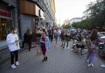 Новосибирская молодёжь массово нарушают правила самоизоляции