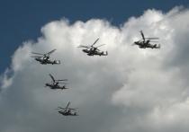 «Беркуты» пролетели над Тверью, возвращаясь с Парада Победы в Москве