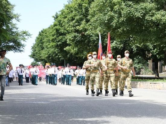 В первом в России марше врачей в Железноводске участвовала Росгвардия