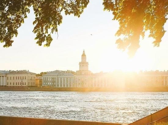 Аномальная жара будет стоять в Петербурге до конца месяца