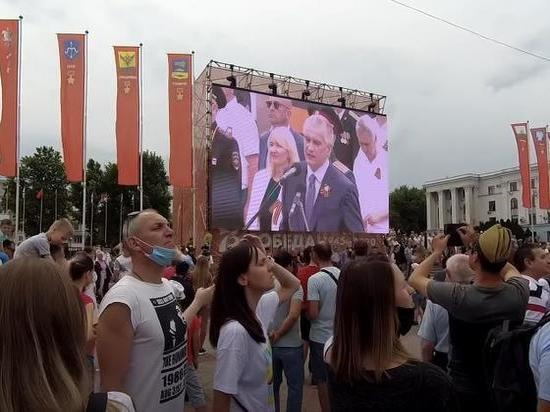 МИД Украины направило ноту протеста из-за военного парада в Крыму