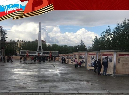 В Салехарде открылась выставка «Салют Победы»