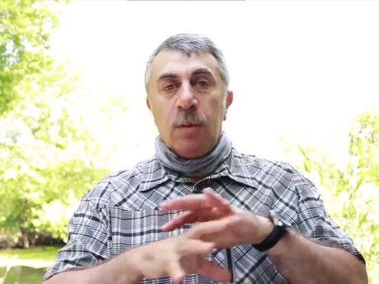 Доктор Комаровский рассказал, как шарф спасёт от жары
