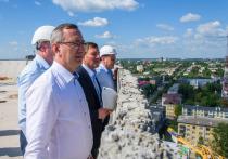Будущий Дворец спорта в Калуге впервые показали изнутри