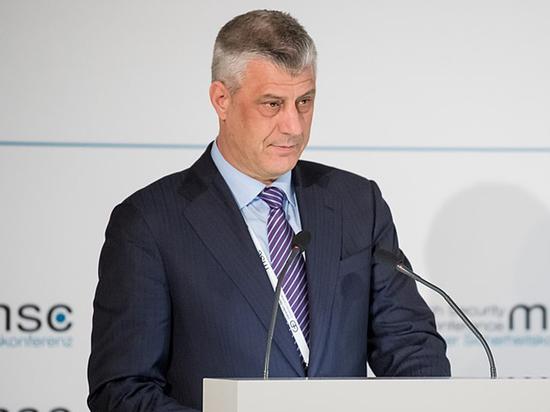 Обвинения Гаагского суда сорвали встречу лидера Косово с президентом Сербии