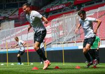 Игроки «Рубина» провели первую в этом году тренировку на «Ак Барс Арене»