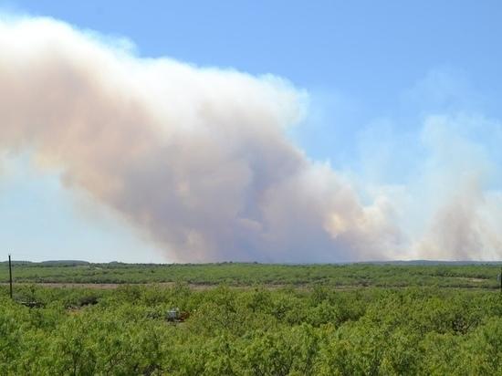 В Оренбуржье зарегистрировано семь степных пожаров