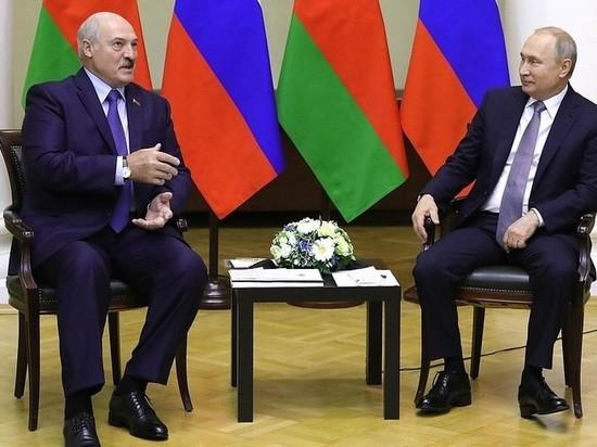 """Лукашенко обсудит с Путиным действия """"кукловодов"""" из России"""