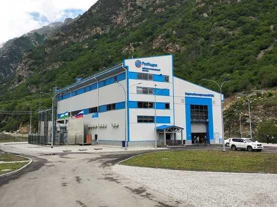 Гидроэлектростанцию построили на реке Черек Балкарский в высокогорном районе