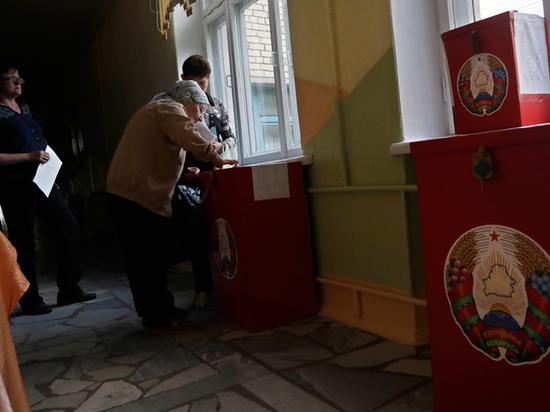 Онлайн-видео из белорусского избиркома породило выборный скандал