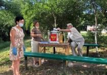 В Железноводске для удобства горожан организовали выездное голосование