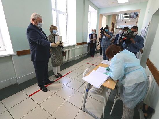 В Томской области началось голосование по поправкам в Конституцию