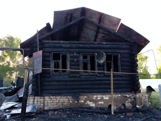 Пожилая женщина получила ожоги на пожаре в Марий Эл