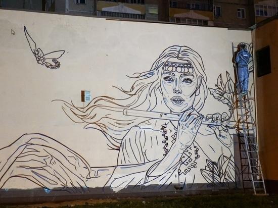 В Йошкар-Оле появятся новые картины на стенах зданий