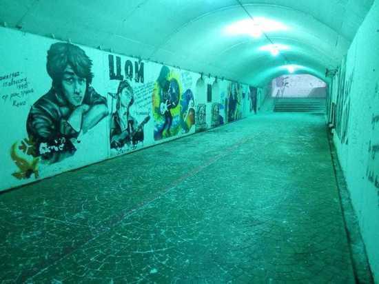 Подземные переходы Екатеринбурга очистят от граффити