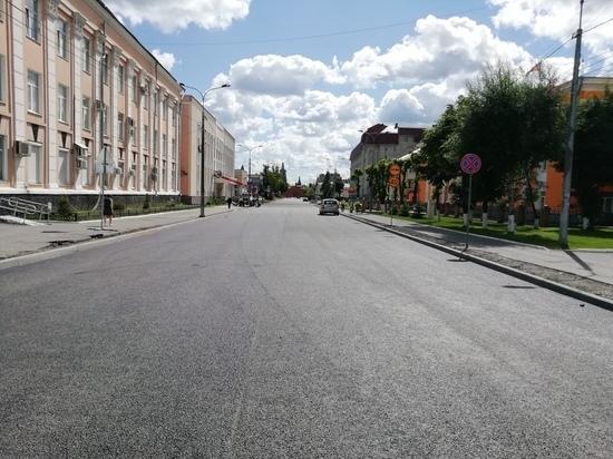 Завершается ремонт улицы Кремлевской в Йошкар-Оле