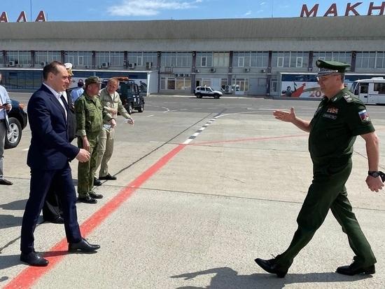 В Дагестан с рабочим визитом прибыл заместитель министра обороны России Тимур Иванов